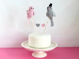 12 Mollycat crochet wedding cake toppers IMG_9975